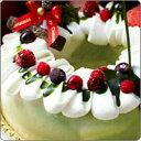 【2011年Xmas新作】いちご抹茶アイスケーキ共同購入≪クリスマスケーキ≫【他商品との同梱不可】§