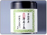 宇治抹茶 清寿の森 30g缶入り§京都老舗のおいしいお茶・宇治茶です。
