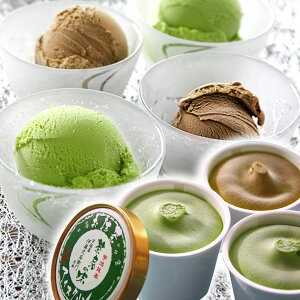 伊藤久右衛門 お中元ギフト 宇治抹茶アイス&ほうじ茶アイス ご当地アイスクリーム 詰め合わせ …
