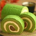 渋皮栗、マロン生クリームを濃厚抹茶スポンジ生地で包んだ秋限定ロールケーキお取り寄せ お菓子...
