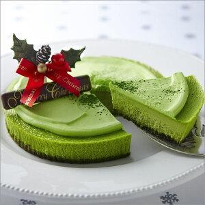 クリスマス クリスマスケーキに【クリスマス限定】宇治抹茶NYチーズケーキ≪クリスマスケーキ≫...