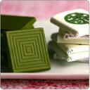 ◇宇治抹茶チョコレート まっちゃ綴り6枚入§京都 宇治のお茶屋作挽きたて抹茶をたっぷり使っ...
