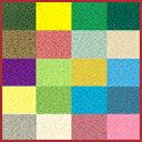 カラーバリエーションが豊富。無地だから使いやすい。華やかな発色と美しい光沢、ほどよい伸縮...