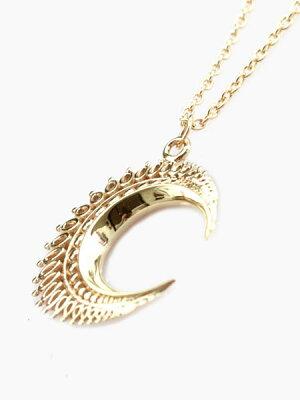 IDEALISM_SOUND(イデアリズムサウンド)【Large_Moon_Necklace_(Gold)[No.12068]_ラージムーンネックレス_(ゴールド)】[正規品](ペンダ