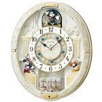 【SEIKO】セイコー大人ディズニー電波からくり時計FW580W