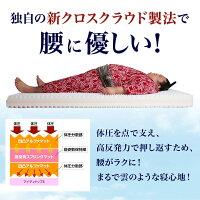 【送料無料】浮圧敷き布団「雲のやすらぎ」敷布団