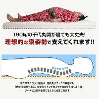 雲のやすらぎプレミアムマットレス腰痛セミダブルホワイト日本製高反発マットレス体圧分散防ダニ防臭あす楽送料無料ぶ厚さ17cm【公式】