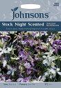 【輸入種子】Johnsons SeedsStock Night Scented Starlight Sentsationストック・ナイト・センテッド・スターライト・センセーションジョンソンズシード