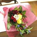 ≪送料&クール便代金込み≫ピンポンマム&リンドウの秋色花束