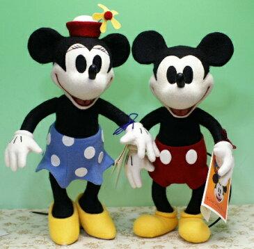WDWディズニーコンベンション2005ミッキー&2006ミニーマウスセット■R.John Wright Dolls