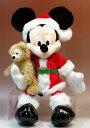 2012年のクリスマスのプレゼントにピッタリ!!アメリカWDW限定 サンタミッキーマウスwithダッ...