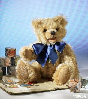赫爾曼 · 經典泰迪寶貝熊 33 釐米綠色赫爾曼泰迪熊