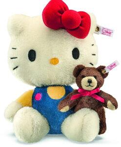 シュタイフのテディベアシュタイフ(Steiff)アメリカ限定テディベア Hello Kitty(ハローキティ...