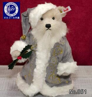 ★ 史迪夫史迪夫世界限量版聖誕泰迪熊熊 (聖誕泰迪熊) 泰迪熊音樂盒