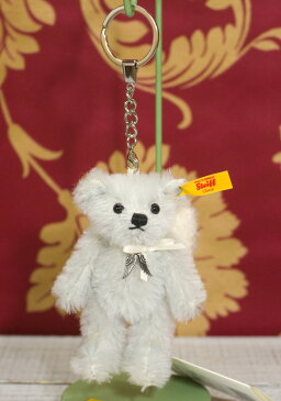 Steiffシュタイフ ペンダント ラファエル テディベア キーリング 11cm(PENDANT RAPHAEL TEDDY BEAR) ぬいぐるみ プレゼント 誕生日 ギフト クリスマス