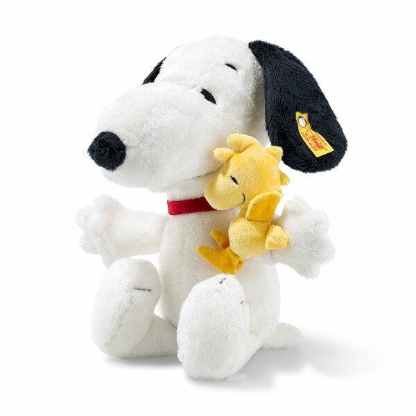 シュタイフ ドイツ限定 スヌーピー&ウッドストック 28cm Steiff ソフト テディベア Snoopy Woodstock