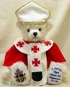 Hermann Coburg社のテディベアローマ法王 ヨハネ・パウロ2世(Pope John Paul II) テディベア...