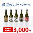 厳選焼酎飲み比べセット 300ml×5本セット【岩川醸造 公...