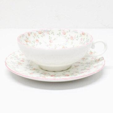 ノリタケ キューティーローズ ティー碗皿 カップ&ソーサー ギフト プレゼント 誕生日 お祝 内祝 父の日 母の日