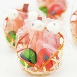ひな祭り ひなまつり お菓子 プチギフト ミニ雛かご かわいい プレゼント 飾り