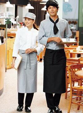ソムリエエプロン ボンマックス おしゃれ 可愛い カフェ 飲食店 安い 34FK7129 ポケット付き カジュアル
