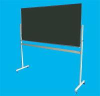 黒板(グリーンボード)W1800×H900移動式脚付(LS-36G)【送料無料】