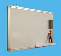 ホワイトボード壁掛用無地W450×H300(TS-3W)マ-カーセット付