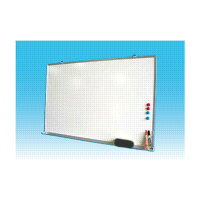 ホワイトボード壁掛用無地W900×H600(TS23W)マ-カーセット付