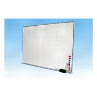 ホワイトボード壁掛用無地W1200×H900【送料無料】マ-カーセット付き(TS-34W)