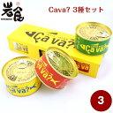 CAVA? サヴァ缶 3種セット 《ケース入り》