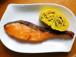 三陸産鮭の味噌漬け朝食おかず