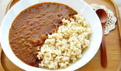 カレーと一緒に食べたいプチプチ食感の玄米