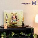 五月人形 令和モダン 子供大将 松崎幸一光 平飾り コンパクト 【M】 子供武者 端午 初節句 鎧 甲冑