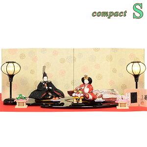 Hina dolls Prince decoration Shibata family Chiyo Compact [S] Hina doll compact Hatsubetsu Hira decoration Hinasama