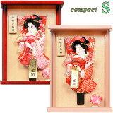 壁掛け 羽子板 初正月 7号 ミニ サイズ 【S】 アクリル 額飾り 押絵 羽子板 ピンク