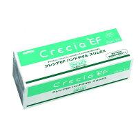 【ケース販売】クレシアEFハンドタオルソフトタイプスリムEX小判サイズ2枚重ね200組(400枚)/パック×36パック入37030
