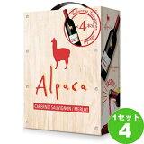 サンタ・ヘレナ・アルパカ・ カベルネ・メルロー バッグインボックス BIB 赤ワイン 3000ml×4箱 ワイン【送料無料※一部地域は除く】【取り寄せ品 メーカー在庫次第となります】