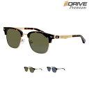 レトロな雰囲気 超軽量 高性能 高品質 偏光サングラス メンズ UV400 UV 紫外線カット メタルフレーム サーモント アイゾーン ブランド iDrivePremium-P122