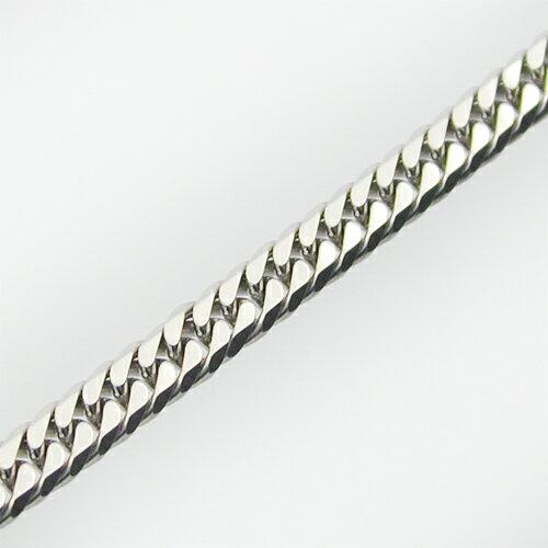 Pt ダブル喜平6面カットネックレス 50cm-A:ジュエリーAYA