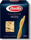 バリラ トロフィエ・リグーリ 500gジェノヴァ特産のバジリコをペーストにしたソースにジャガイモ、いんげんを合わせて、ジェノヴァ地方の伝統的なパスタ料理をお試しください。