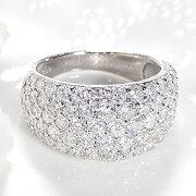 ファッション ジュエリー アクセサリー レディース プラチナ ・ダイヤモンド・ダイアモンド・ カラット パヴェ・ ホワイトデー・ギフト・プレゼント・