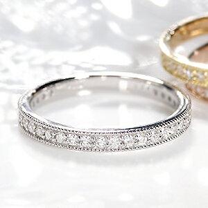 ジュエリー アクセサリー レディース イエロー ゴールド ホワイト ダイヤモンド エタニティ プレゼント クリスマス アンティーク