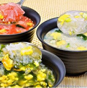 ぷるるん姫シリーズ!満腹ダイエット雑炊 3種類30食セット