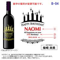 【送料無料】【名入れ】【木箱入り】オリジナル彫刻ワイン【誕生日】名前・日付を入れて世界で1本だけの名入れワインに!【楽ギフ_包装】【RCP】