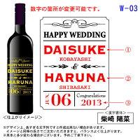 【送料無料】【名入れ】【木箱入り】オリジナル彫刻ワイン【結婚】名前・日付を入れて世界で1本だけの名入れワインに!【楽ギフ_包装】【RCP】