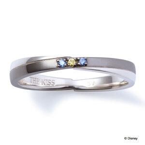 【ディズニーコレクション】ドナルドTHEKISSシルバーペアリング【メンズ販売】SV925製結婚指輪マリッジリングキュービック/crossing記念日★ふたりの絆★DI-SR6011CB
