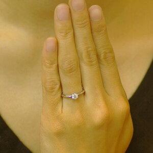 ダイヤモンドエンゲージリングプラチナ0.3カラットDカラーVVS1エクセレントダイヤを美しく輝かせる小さな爪婚約指輪※マリッジリング1本2000円値引特典クリスマス