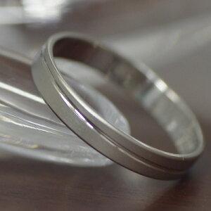 プラチナマリッジリンググリーメ【1本販売】結婚指輪ペアリングスタンダード表面ツヤ消