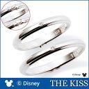 送料無料 【ディズニーコレクション】 ミッキー & ミニー THE KISS ザ キッス シルバー ペアリング ダイヤモンドxダイヤモンド 【ペア販売】 SV925製 DI-SR1814DM-DI-SR1815DM ハンドモチーフペアリング ディズニーペアリング 指輪 記念日 クリスマス ホワイトデー