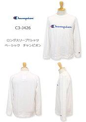Champion,チャンピオン,長袖Tシャツ,C3-J426